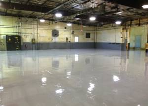 urethane concrete floor maintenance
