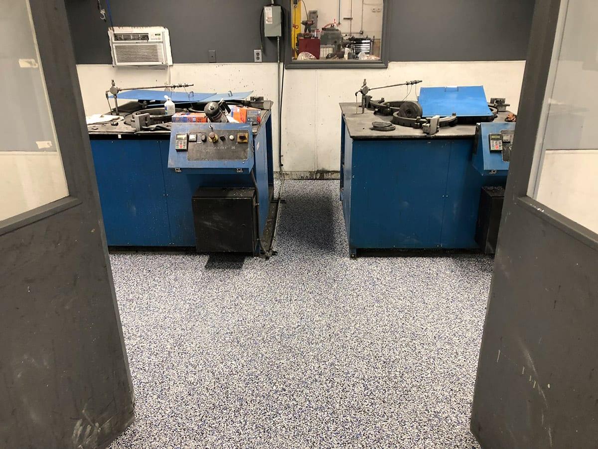 epoxy floor repair in Denver, CO