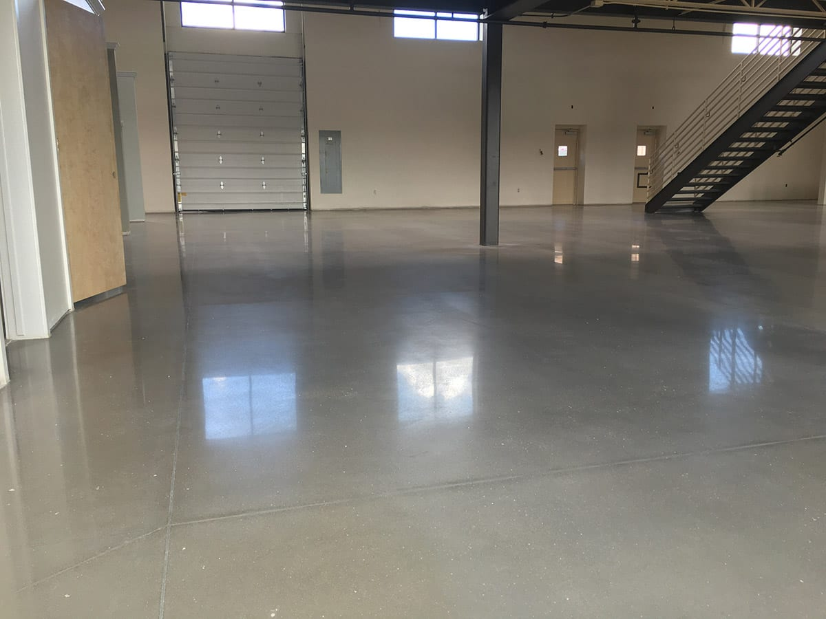polished concrete floors solutions in Denver, Colorado