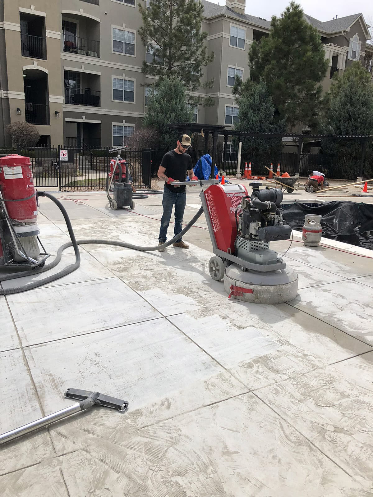 Denver, Colorado concrete specialists
