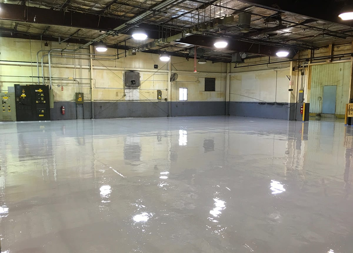 epoxy floor coating in Denver, CO