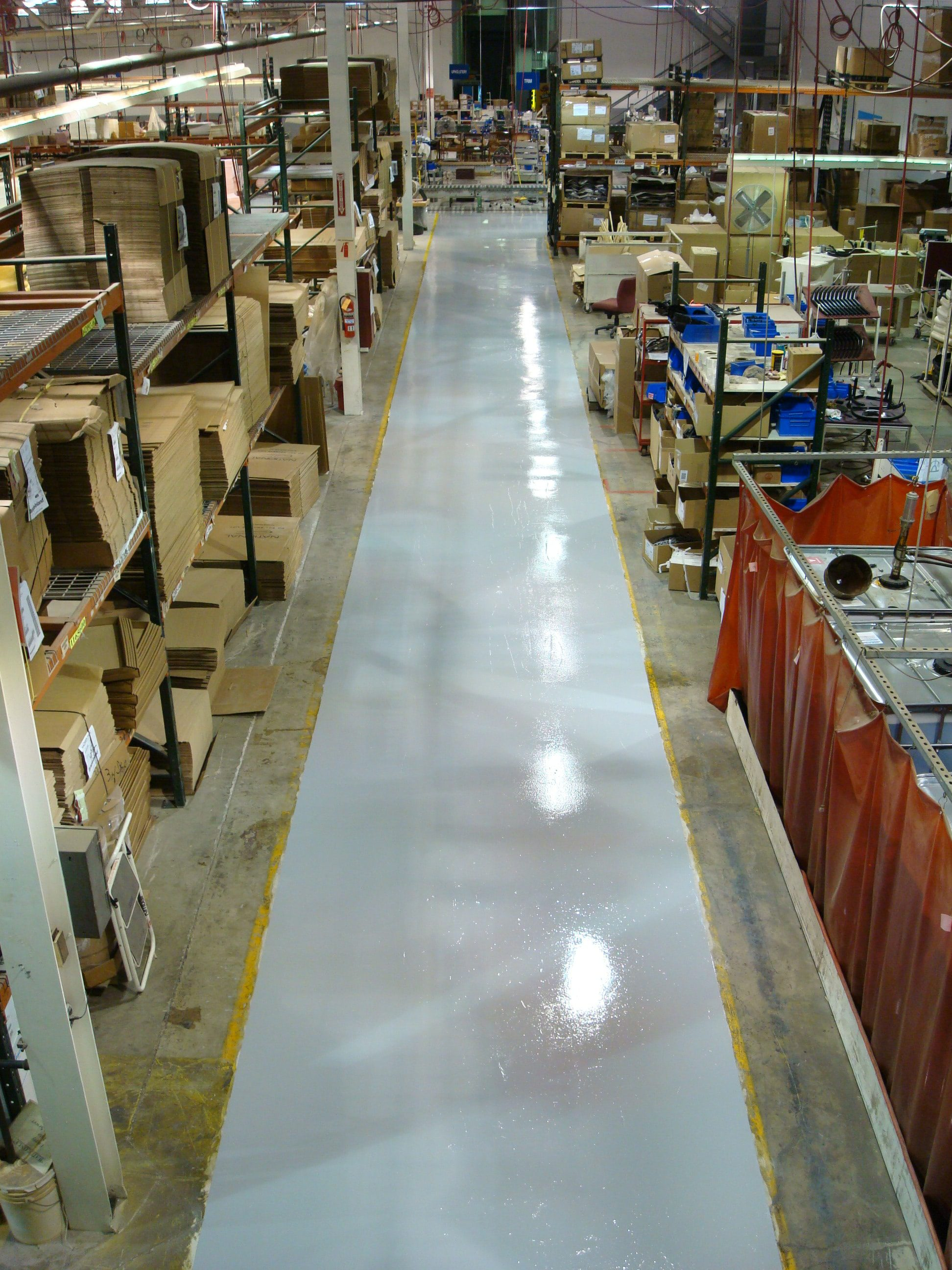 Englewood, Colorado Warehouse Floors