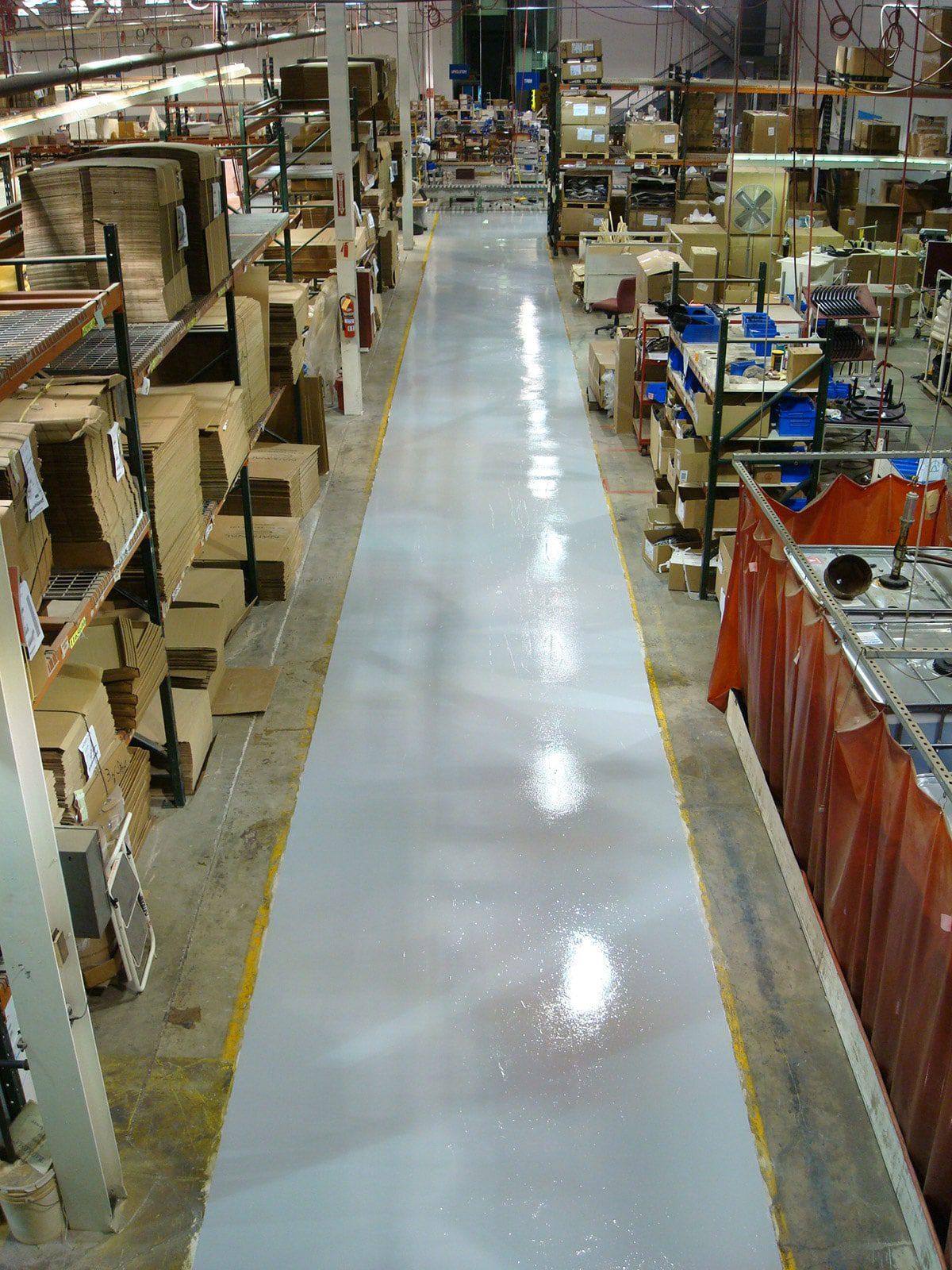Littleton, Colorado Warehouse Floors